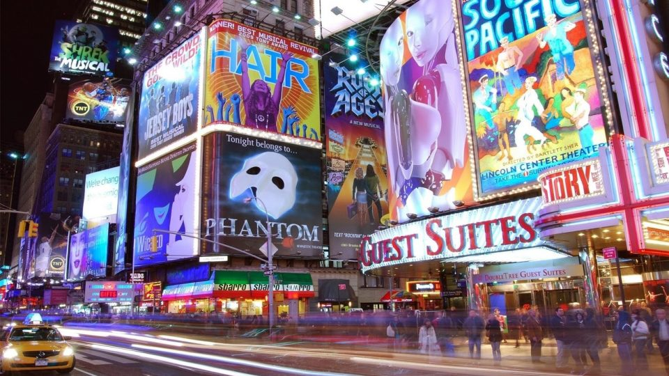 New York times square led display screen